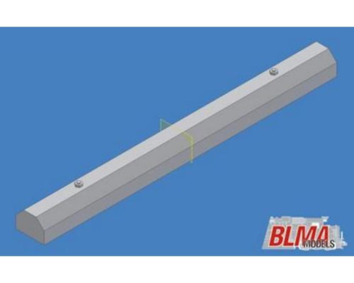 BLMA Models HO Concrete Car Stops (20) (Plastic)