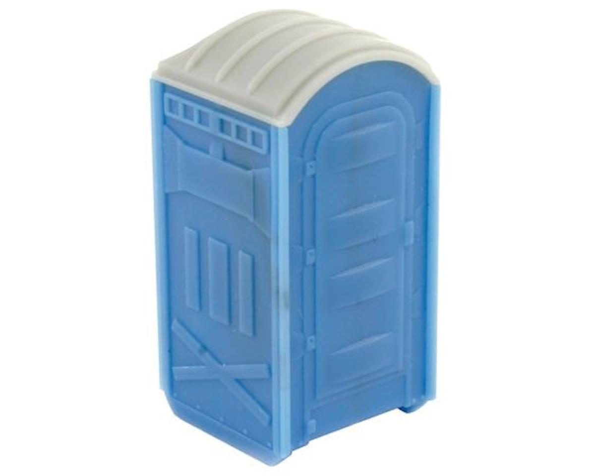 BLMA Models HO Portable Toilet (2) (Plastic)