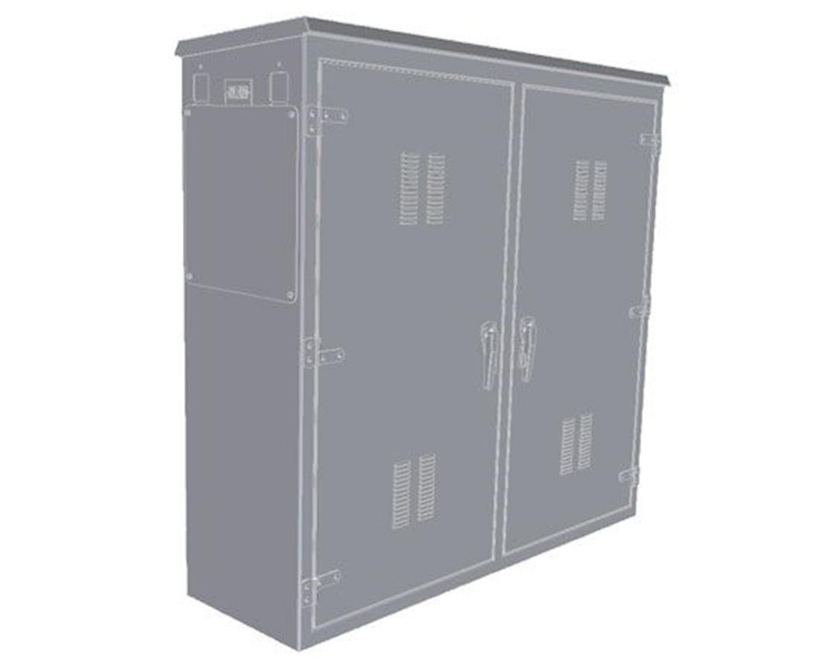 BLMA Models HO Modern Small Electrial Box (Plastic)