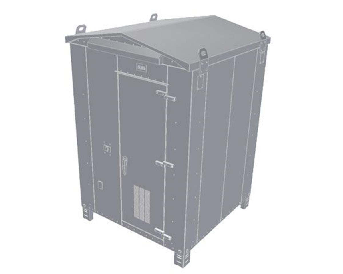 BLMA Models HO Modern Trackside Electronics Box, Medium