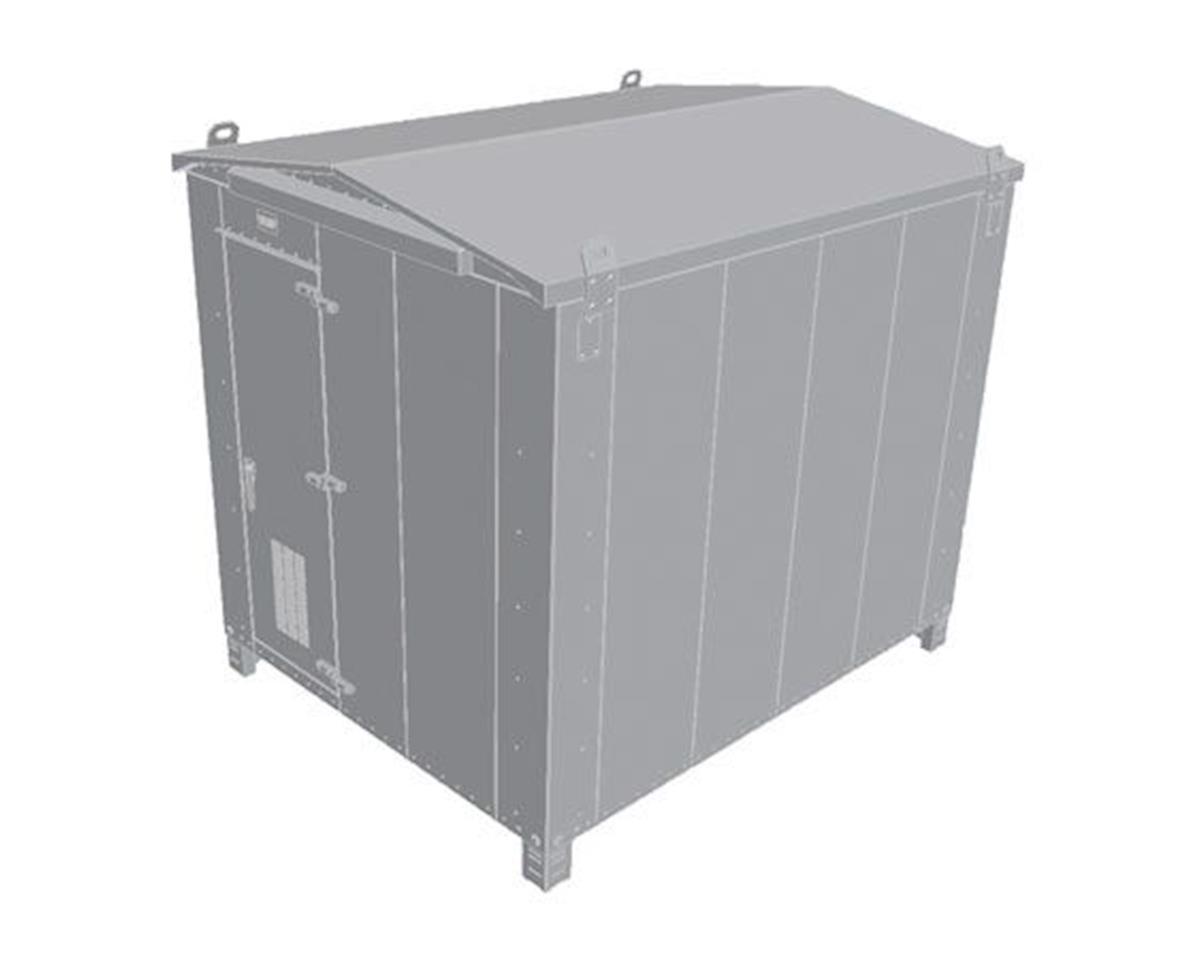 HO Modern Trackside Electronics Box, Large