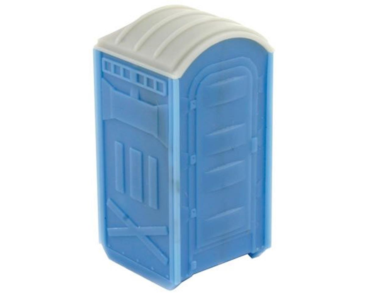 N Portable Toilet (2) (Plastic) by BLMA Models