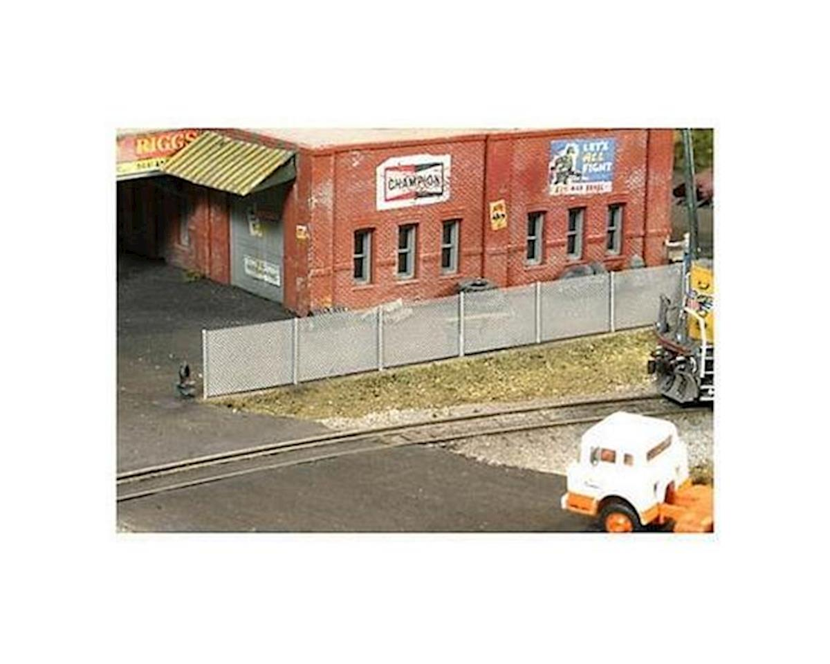 BLMA Models N 6' Tall Chain Link Fence, 250'