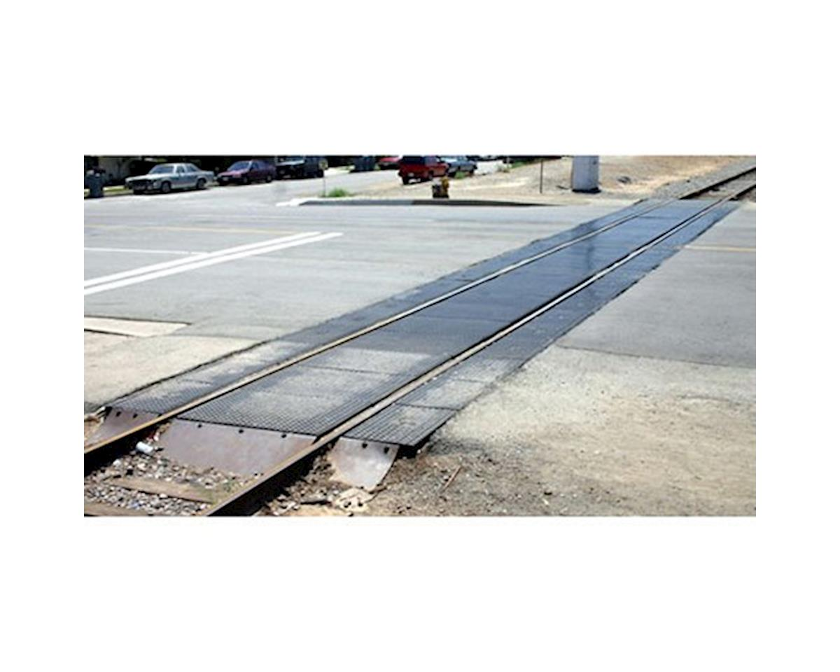 N Modern Grade Crossing Extension, Rubber