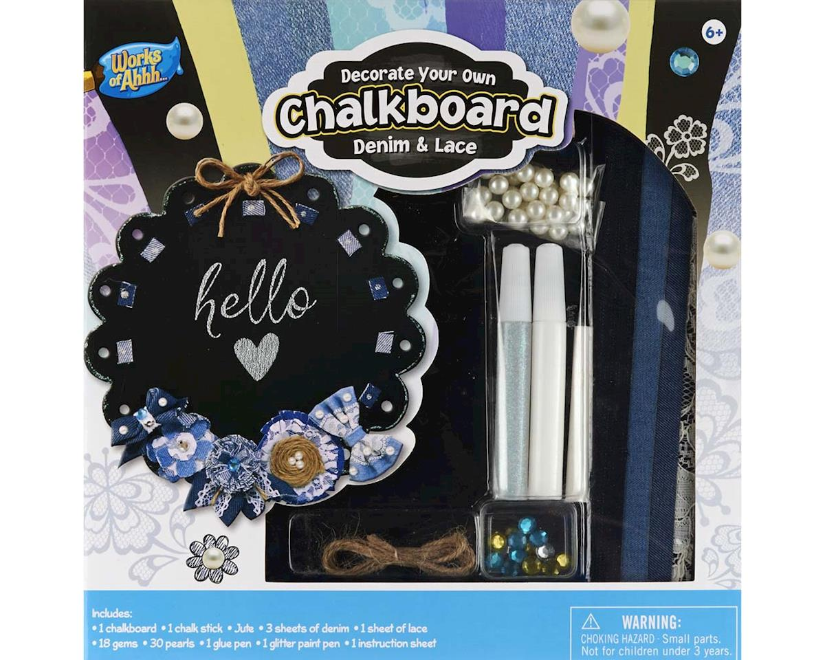 21575 Chalkboard Kit Denim/Lace