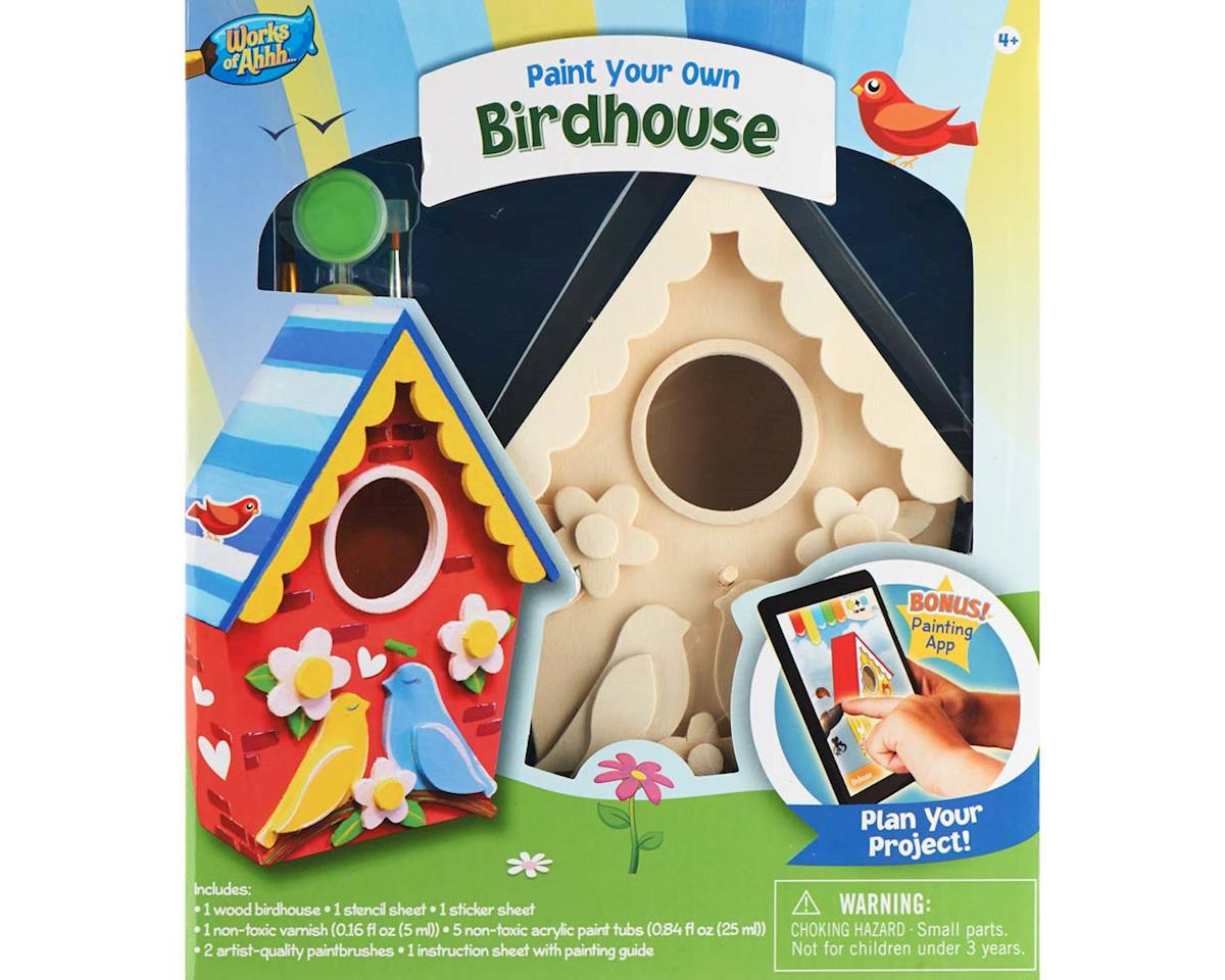 21637 Birdhouse Lovebirds by Balitono
