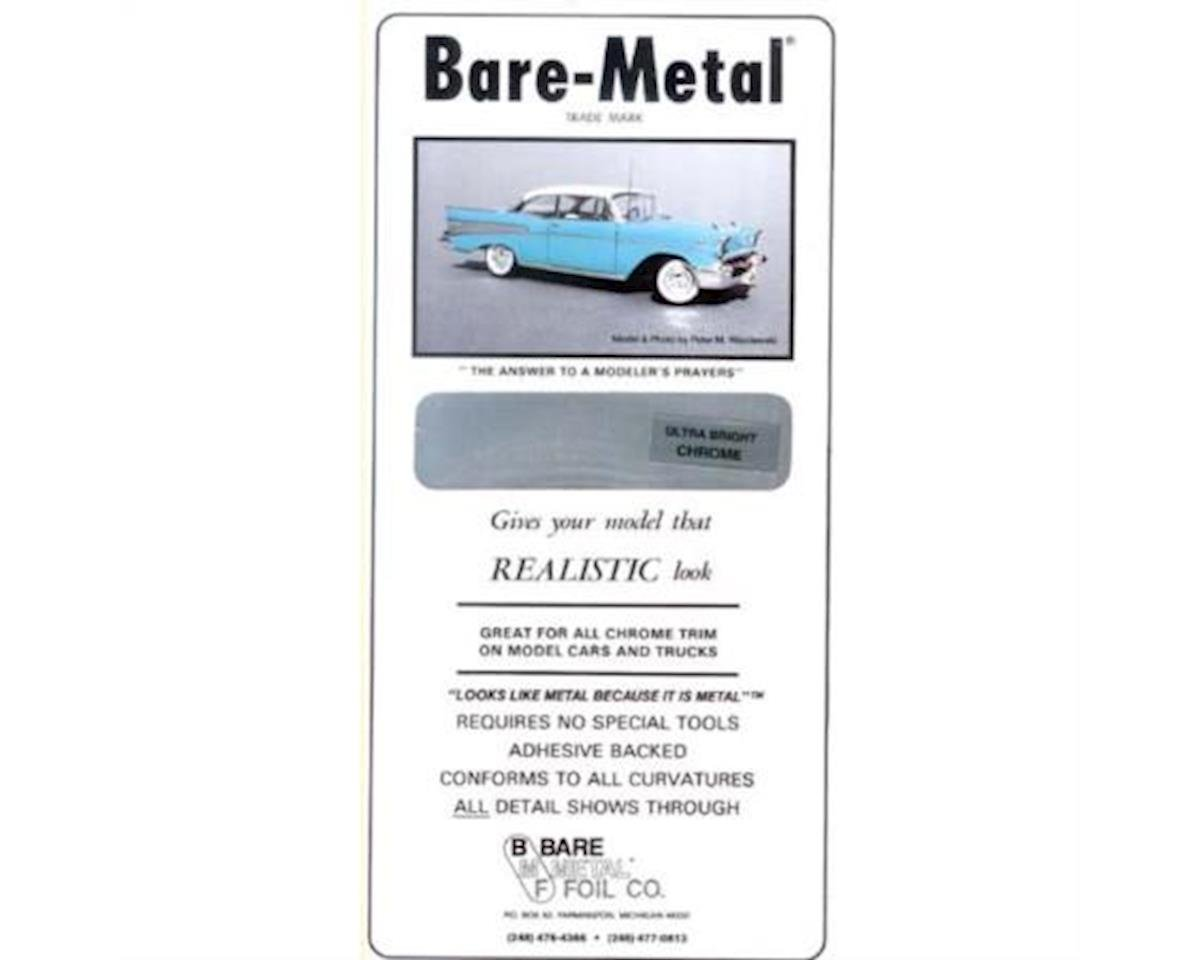 Bare Metal Foil  Ultra Bright Chrome Foil Thin Sheet 6 X 11