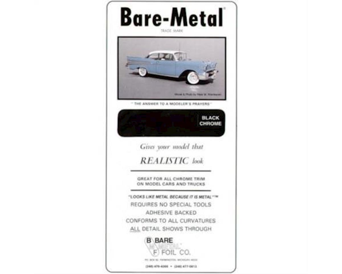 Bare Metal Foil Co 003 6x11 Thin Sheet Black Chrome Foil