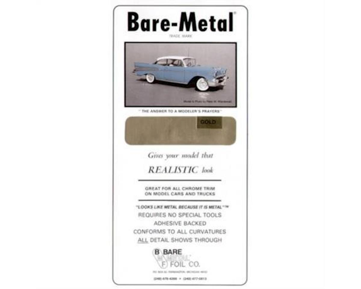 Bare Metal Foil Bare-Metal 008 Gold Foil Model Car Kit Adhesive