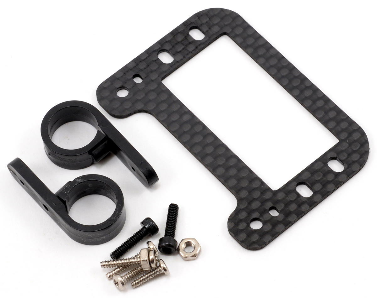 Beam Carbon Fiber Tail Servo Mount Plate Set
