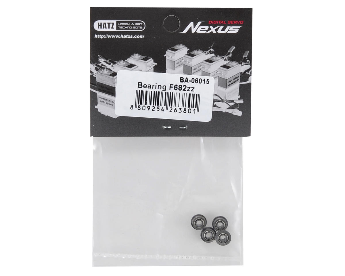 Beam F682ZZ Bearing Set (4)