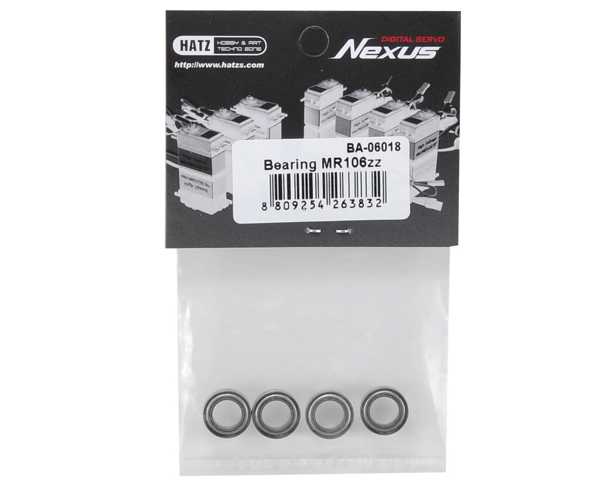 Beam MR106ZZ Bearing Set (4)