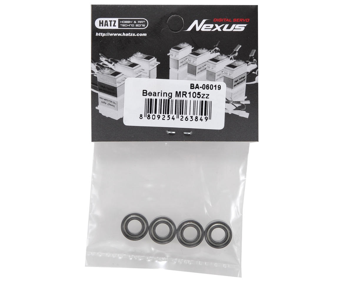 Beam MR105ZZ Bearing Set (4)