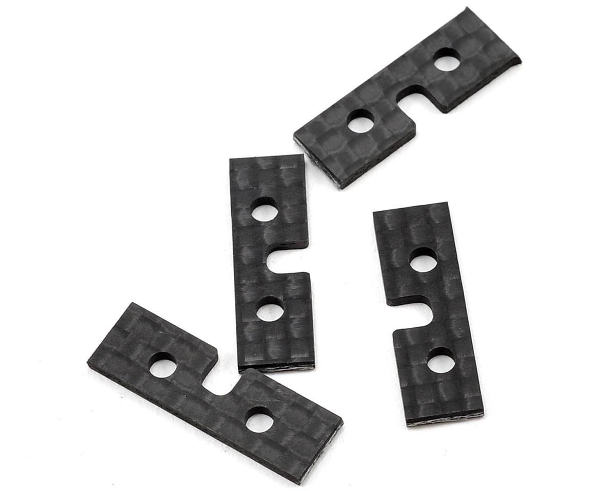 Beam Carbon Fiber Servo Plate (4) (Standard)