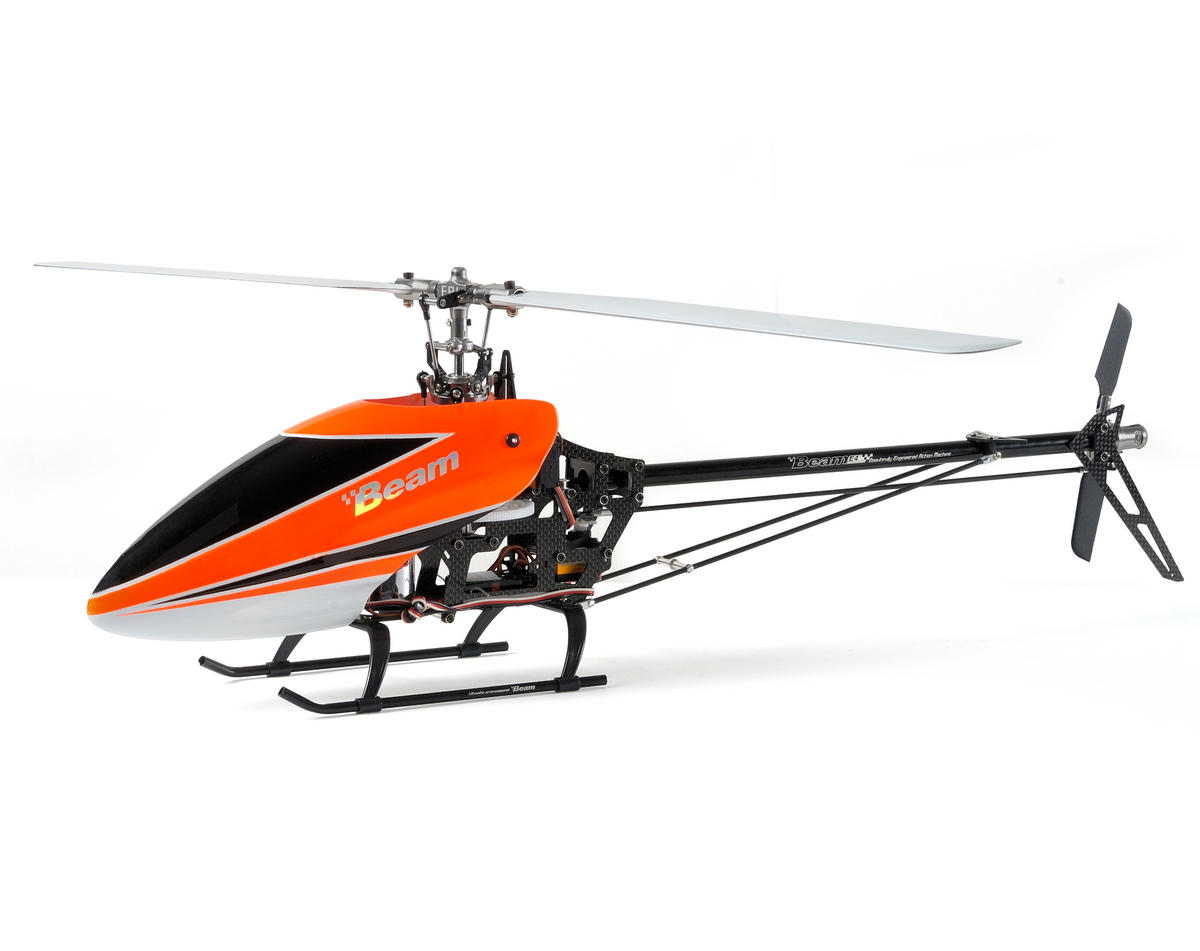 "Beam E4 V2 ""Advance"" 450 Flybarless Helicopter Kit w/Blades (Orange)"