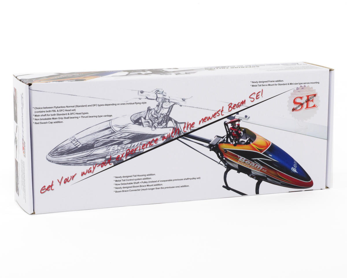 Beam E4 Advance SE 450 Flybarless Helicopter Kit w/Blades