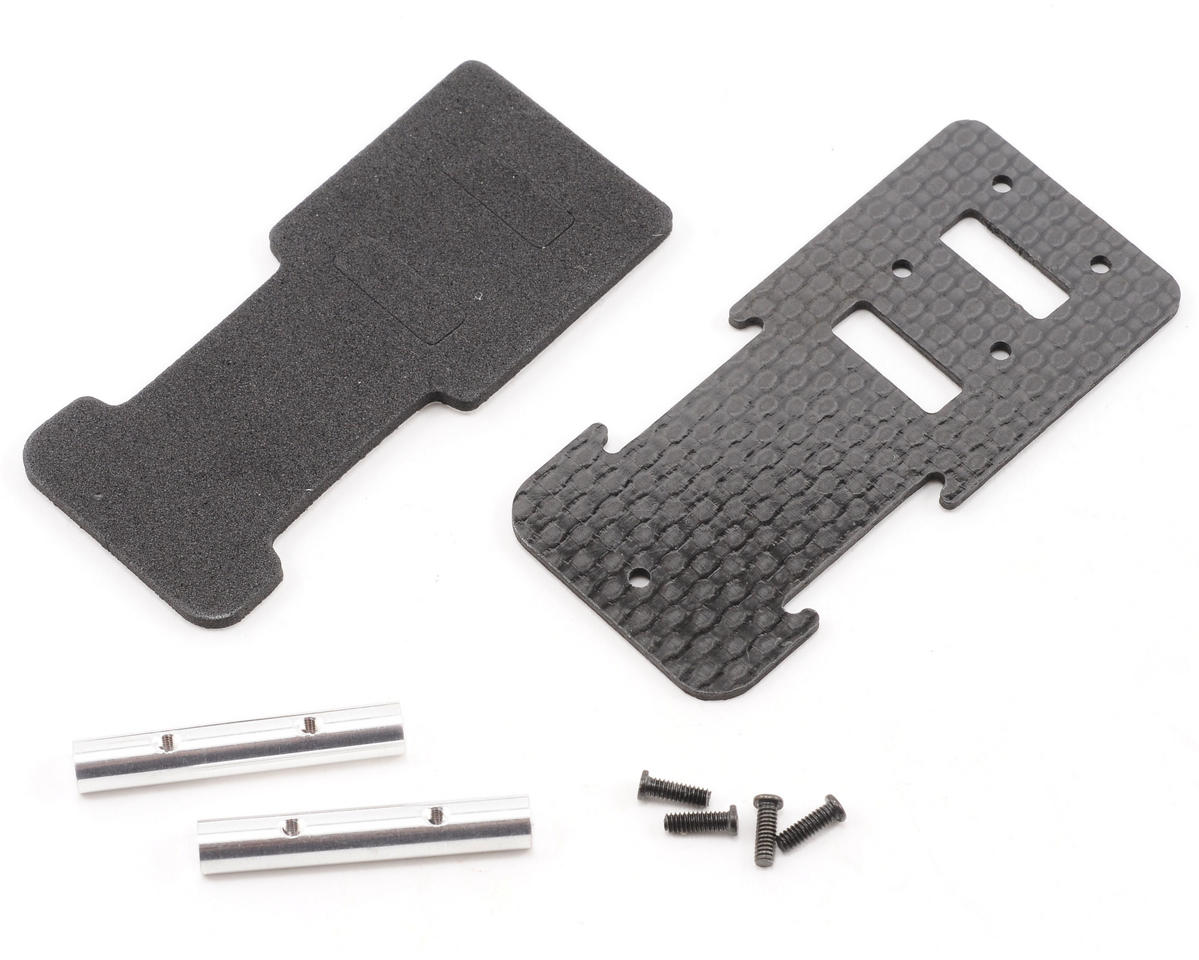 Beam Carbon Battery Mount Plate w/Hardware