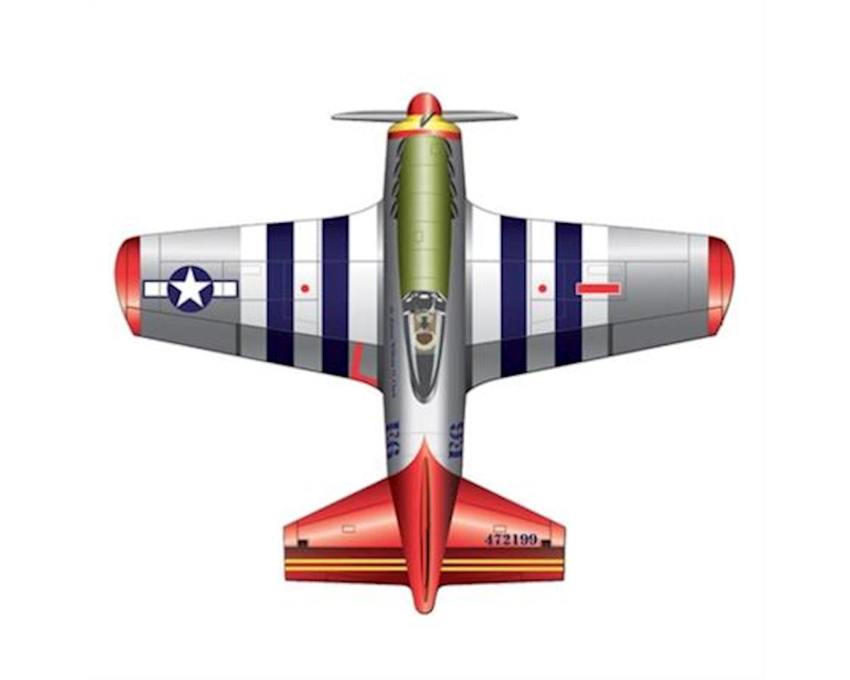 Wind N Sun  2D P-51 Mustang Kite by Brain Storm Products