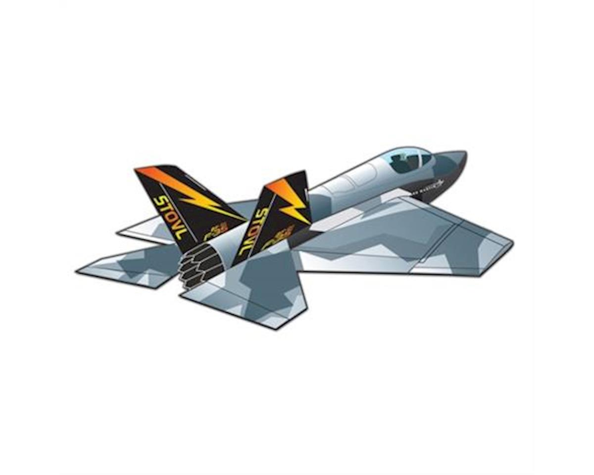 Wind N Sun  3D F-35 Lightning Kite by Brain Storm Products