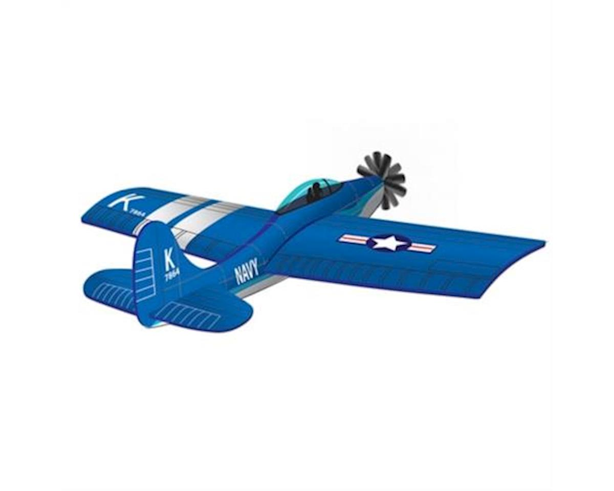Wind N Sun  3D Navy Corsair Kite by Brain Storm Products
