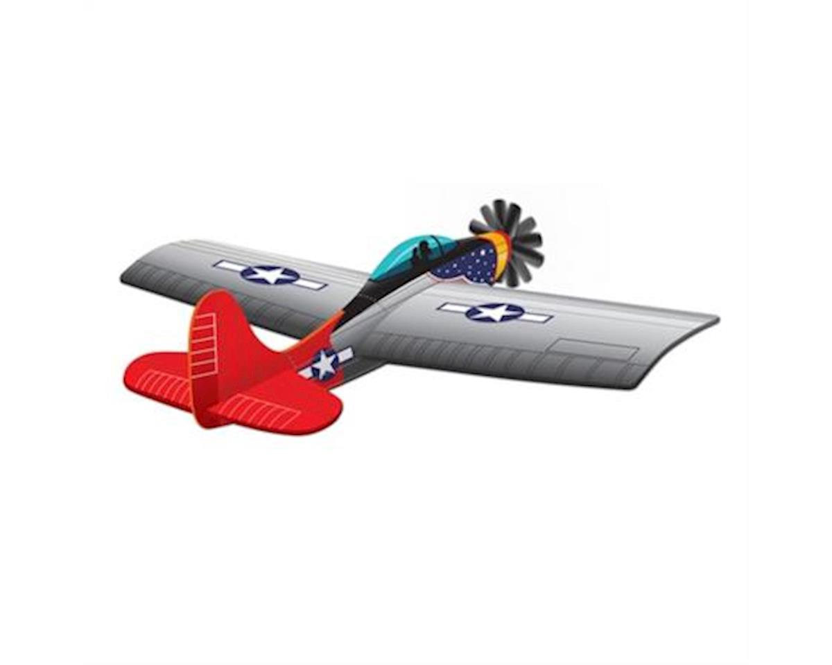 Wind N Sun  3D P-47 Thunder Bolt Kite by Brain Storm Products