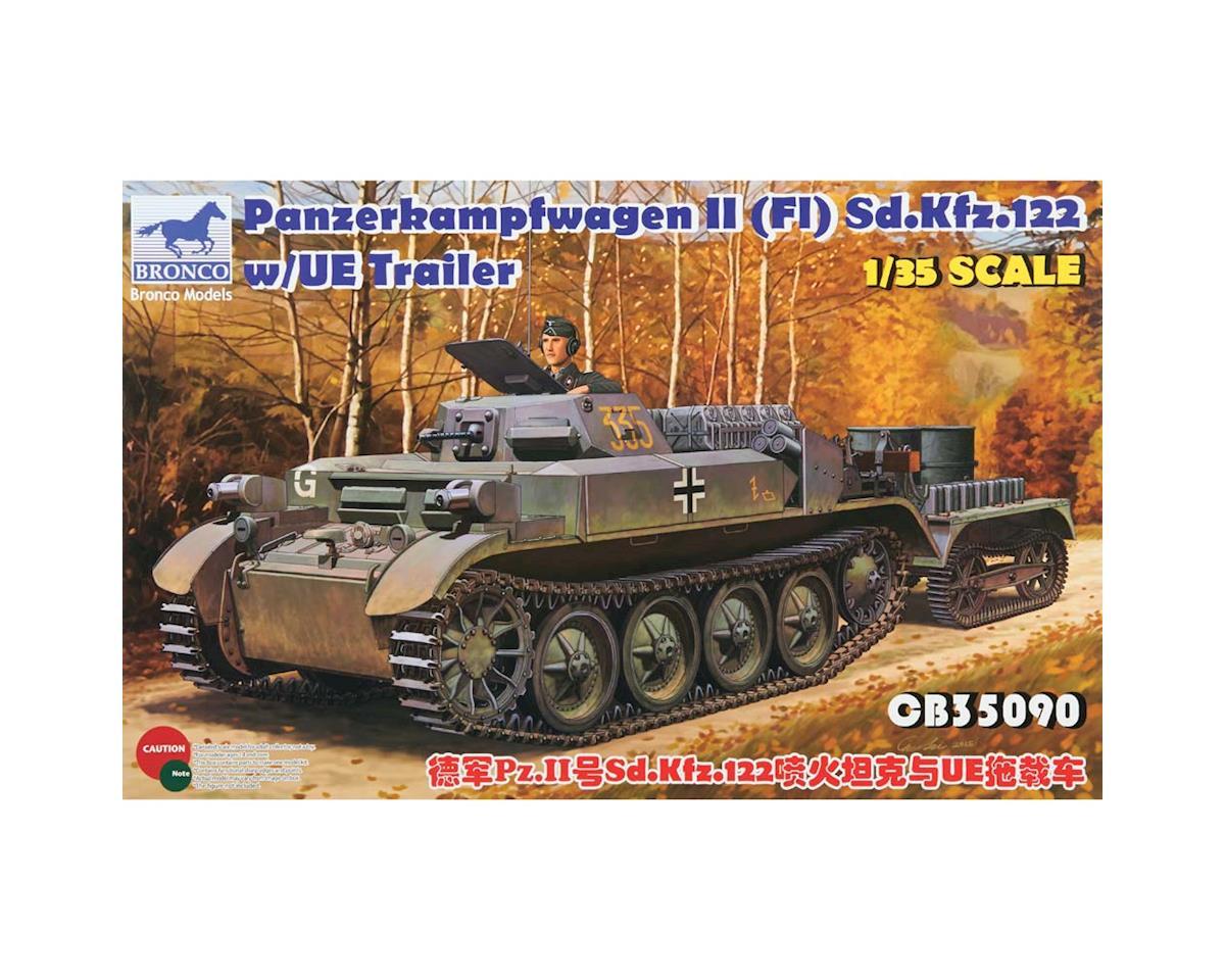 Bronco Models 35090 1/35 PzKpfw II (F1) Sd.Kfz.122 w/UE Trl