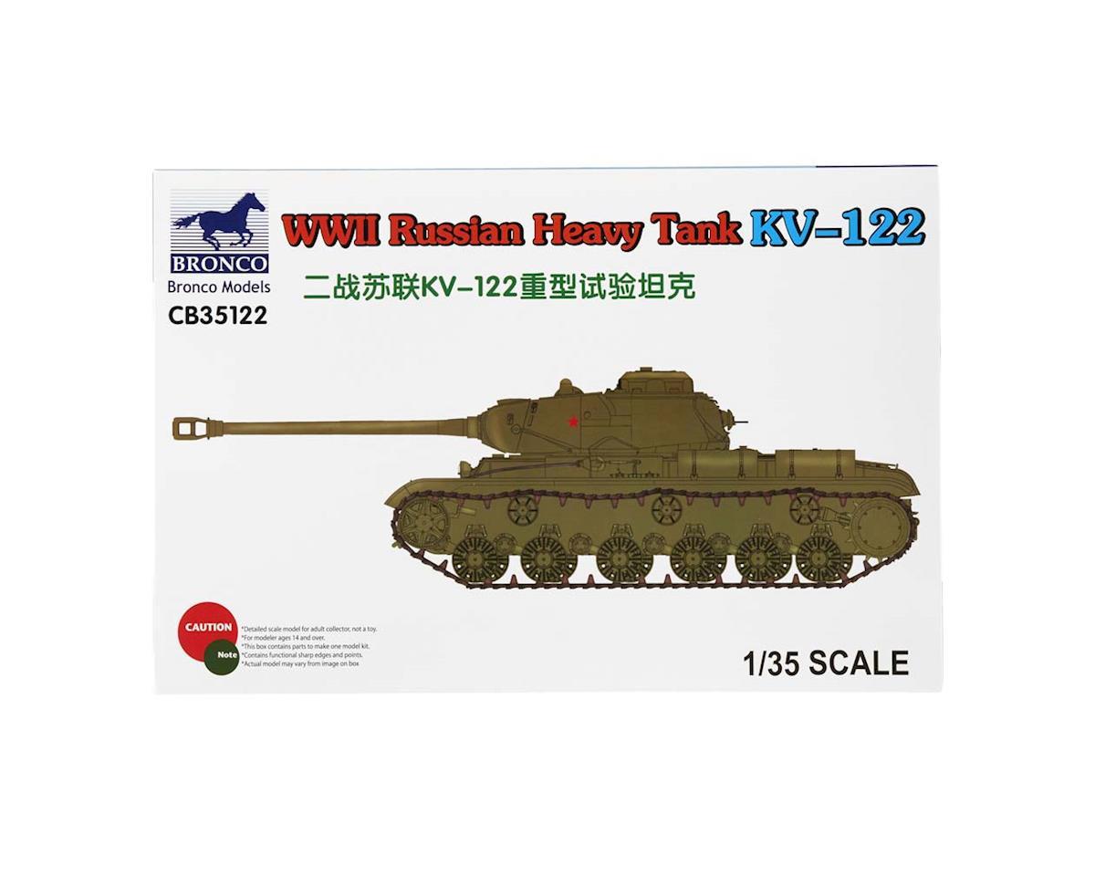 35122 1/35 WWII Russian Heavy Tank KV-122 by Bronco Models