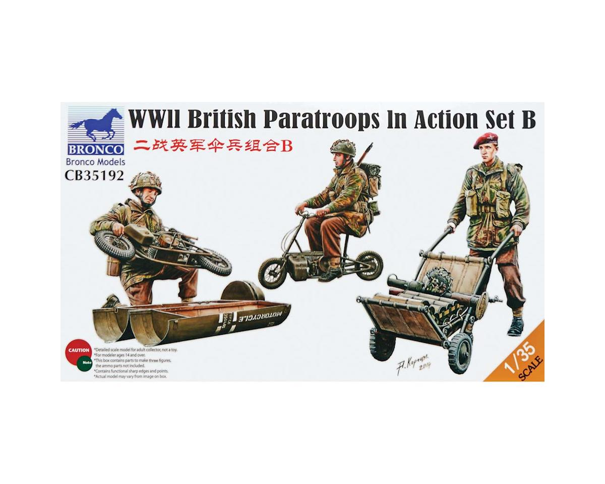 35192 1/35 WWII British Paratroops In Action Set B
