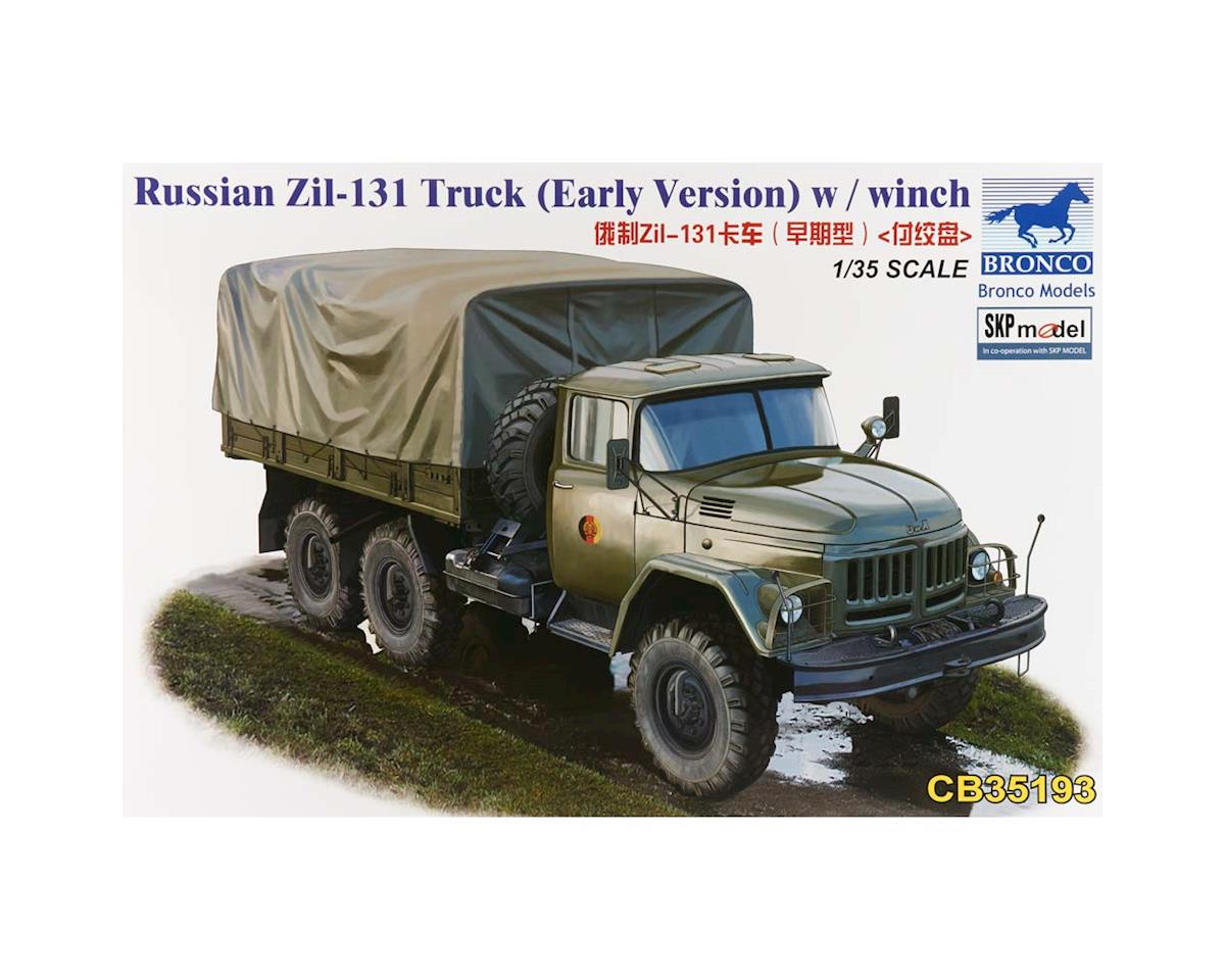 Bronco Models 35193 1/35 Russian Zil-131 Truck w/Winch