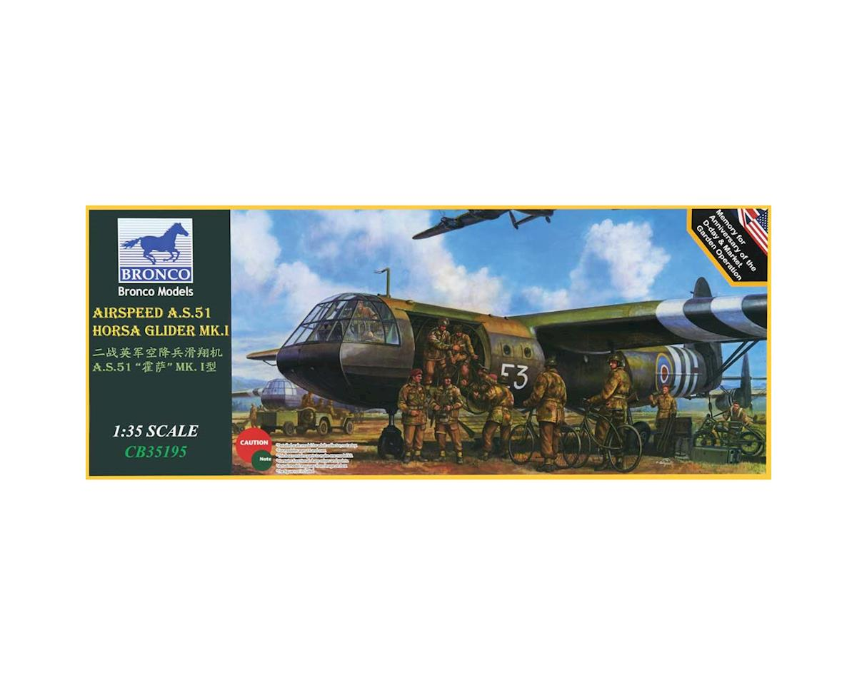 35195 1/35 Airspeed A.S.51 Horsa Glider Mk.I by Bronco Models