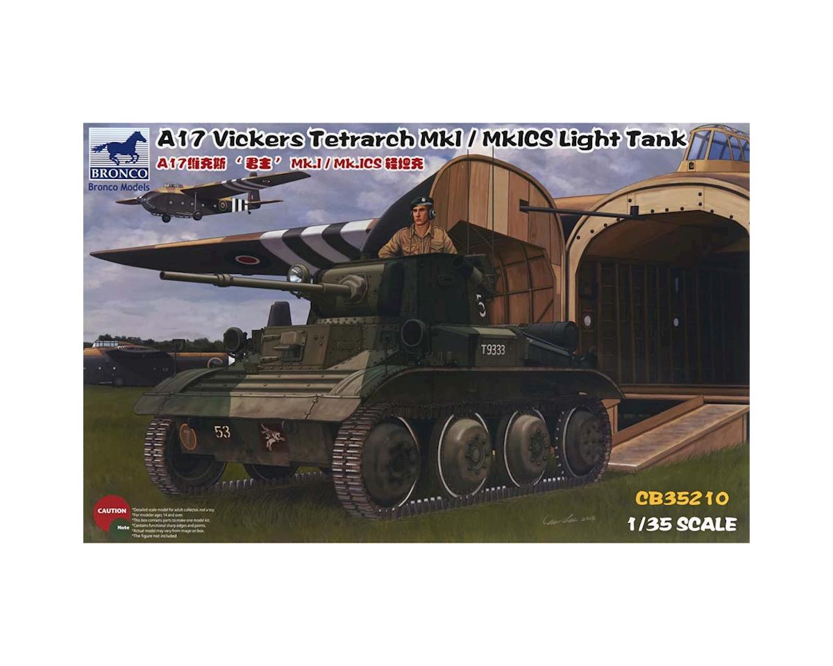 35210 1/35 A17 Vickers Tetrarch MkI/MkICS Light Tank