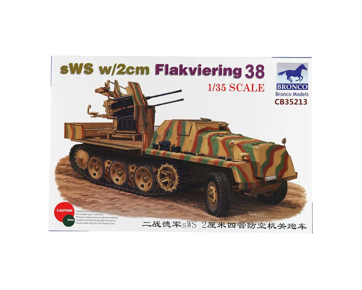35213 1/35 sWS w/2cm Flakviering 38 by Bronco Models