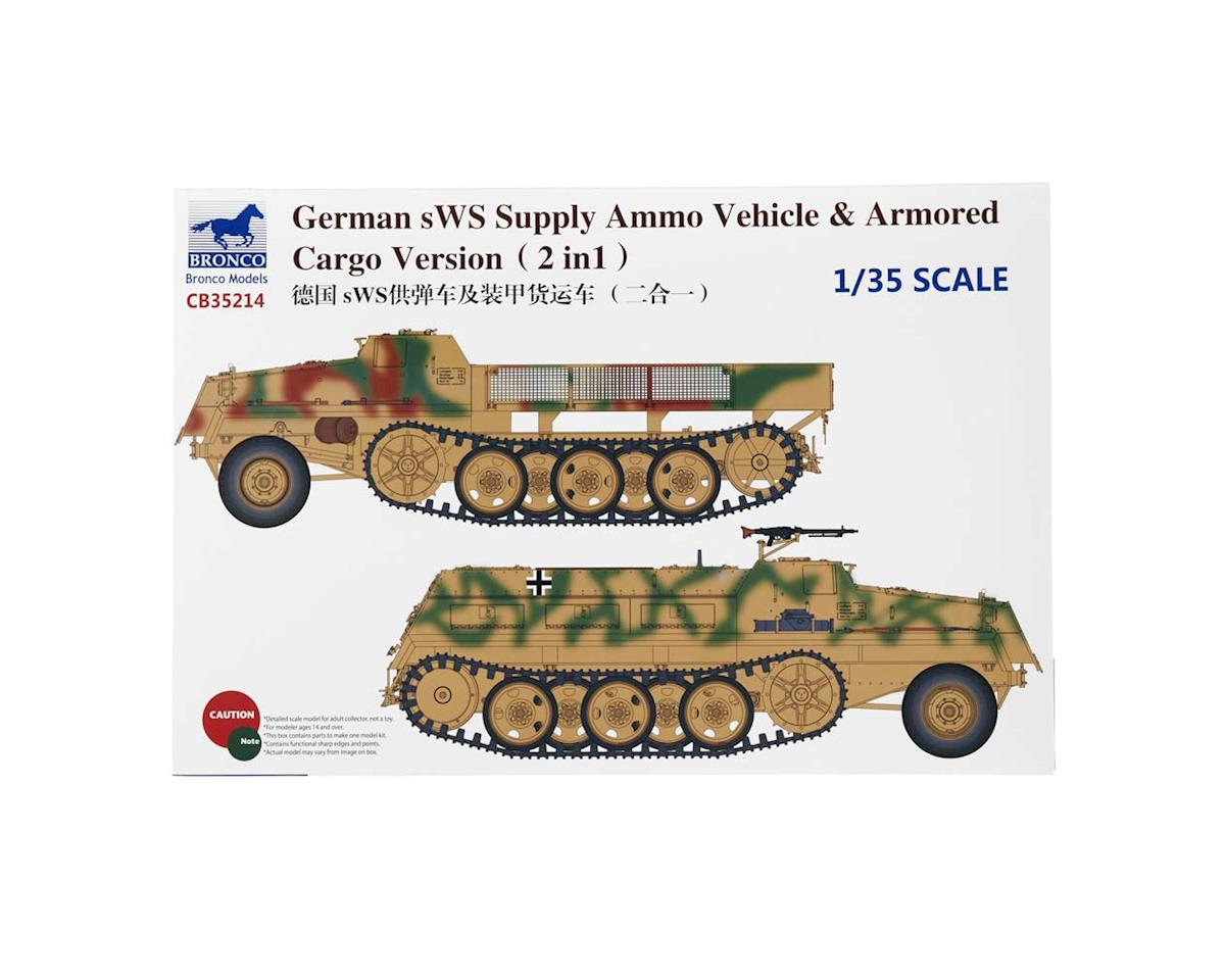 35214 1/35 sWs Supply Ammo Vehicle/Armored Cargo by Bronco Models