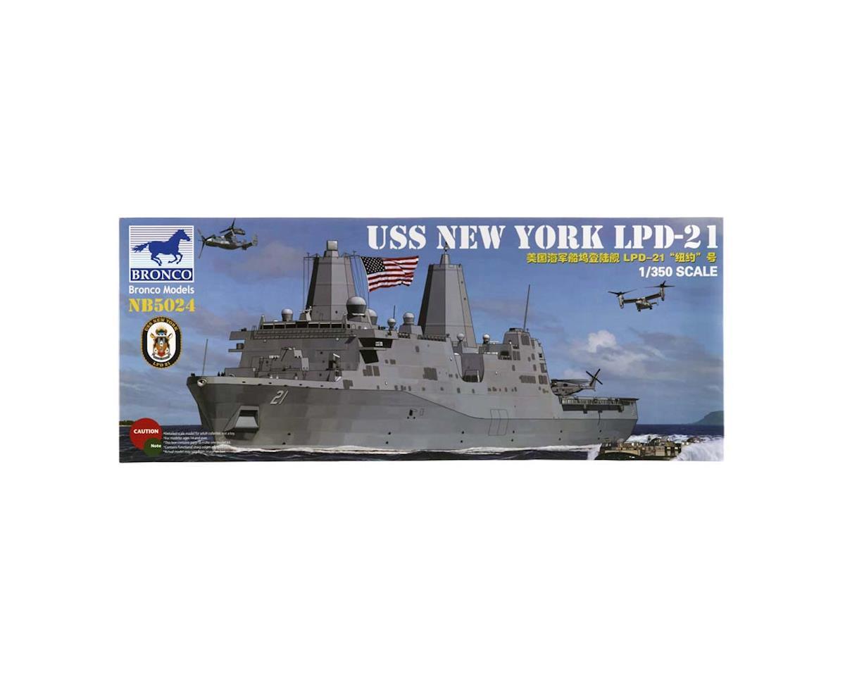 5024 1/350 USS New York LPD-21 Amphibious Transport