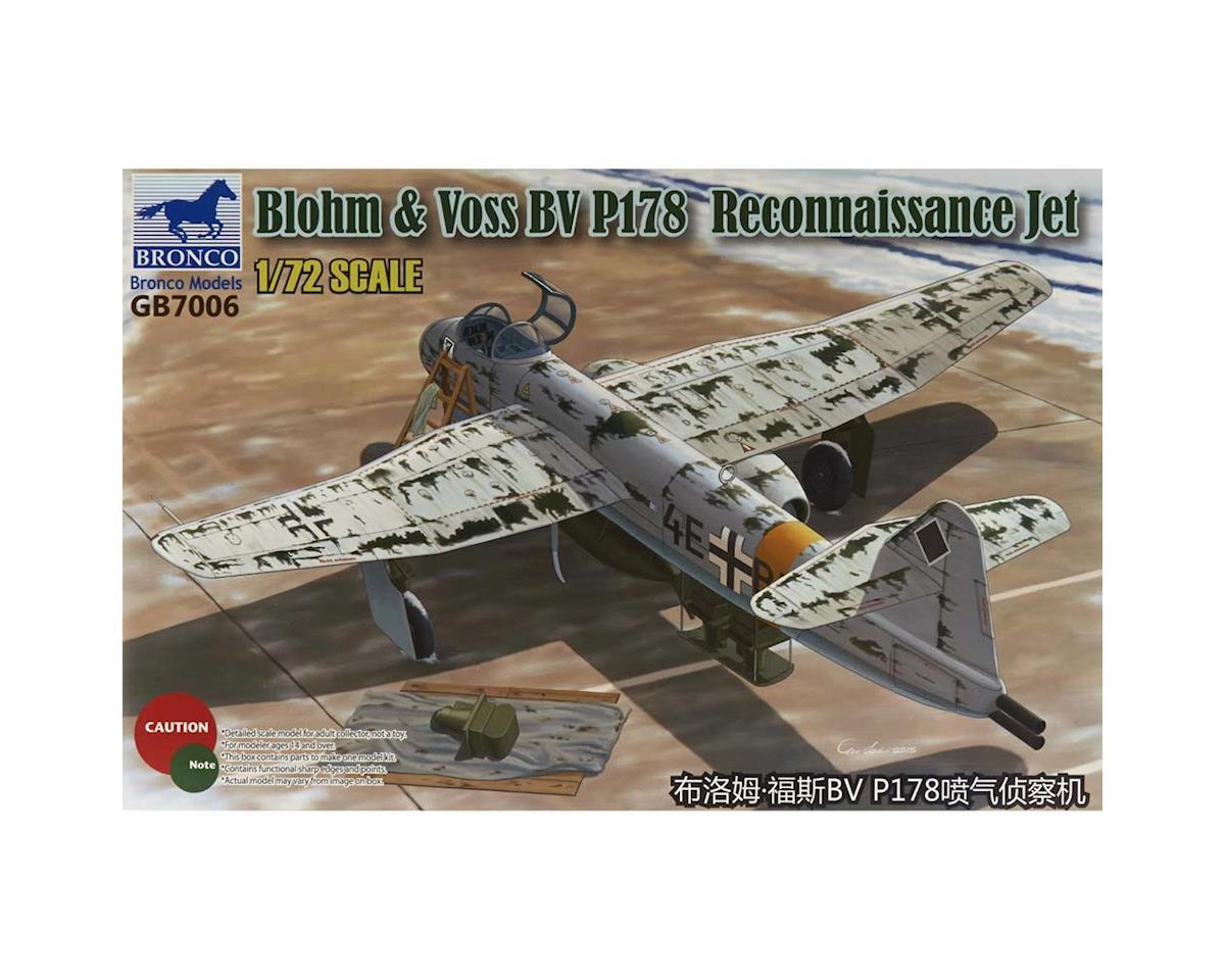 GB7006 1/72 Blohm/Voss BV P178 Reconnaissance Jet by Bronco Models