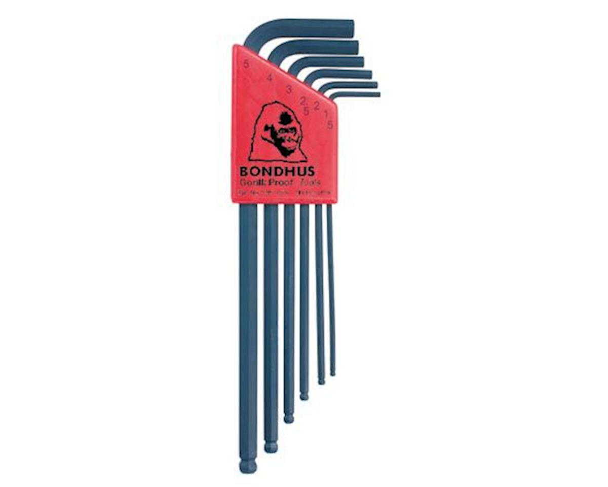 Bondhus L-Wrench Set, 1.5-5mm