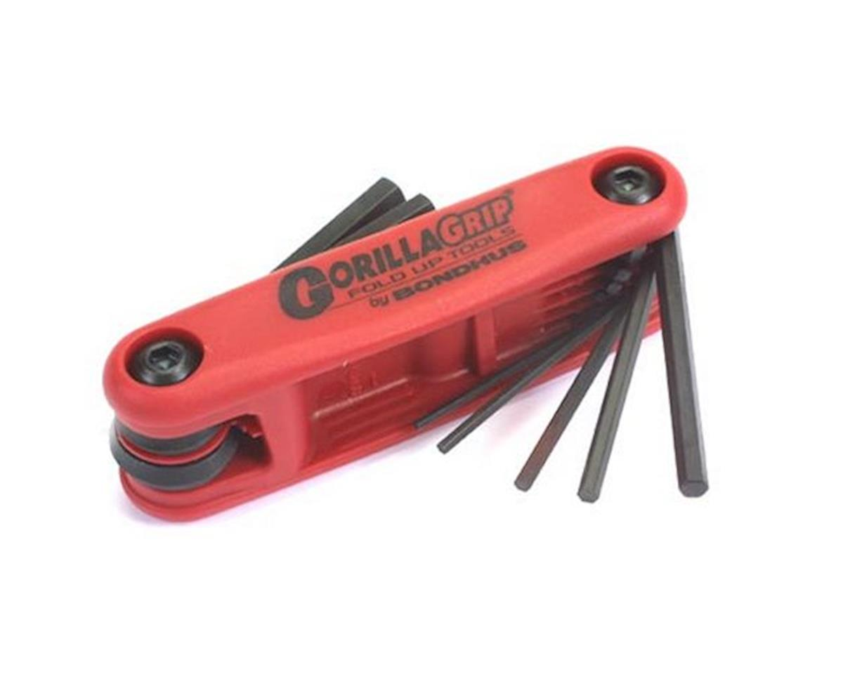 Gorilla Grip 1.5-6mm Folding Hex Key Set