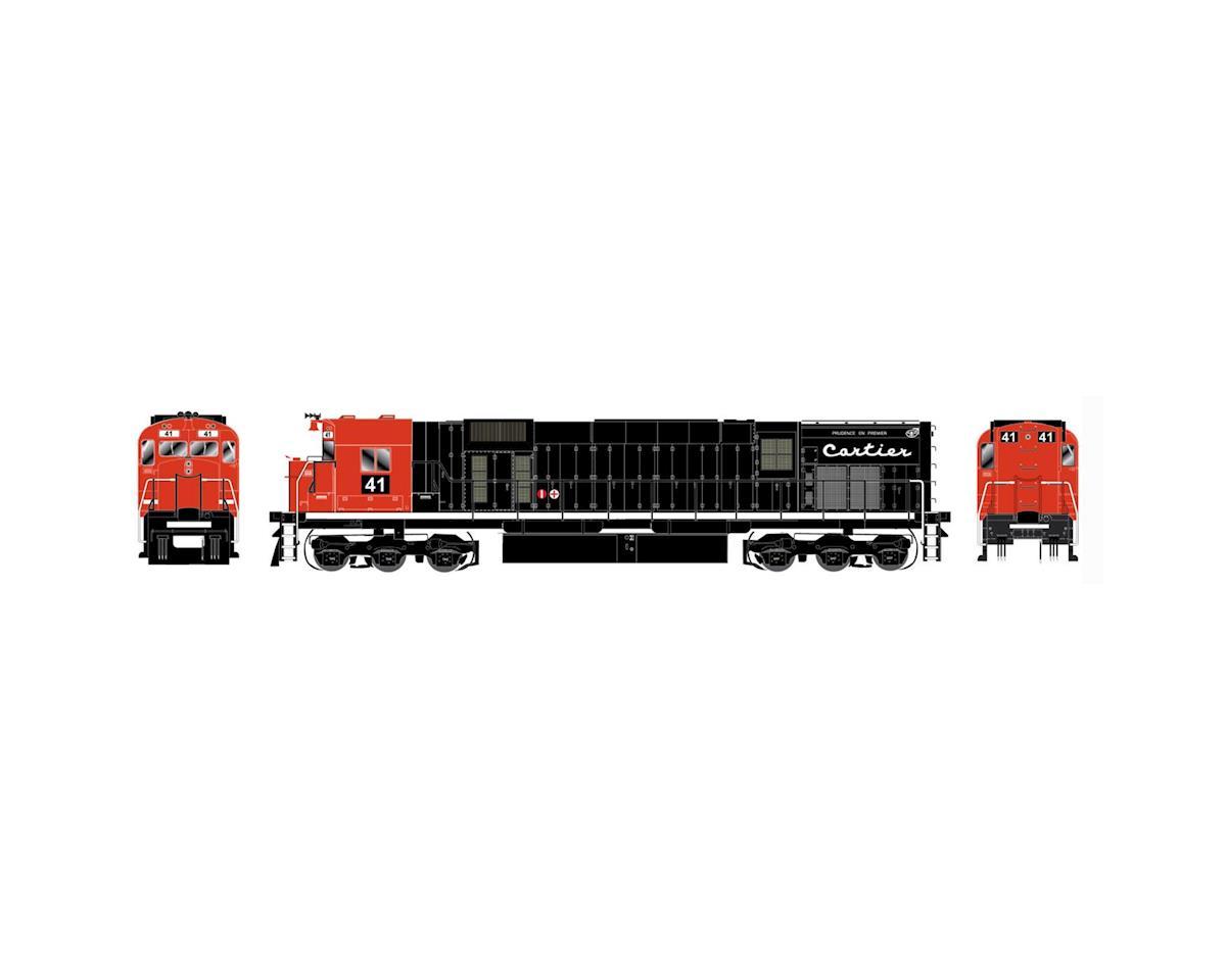 Bowser HO M636 w/DCC & Sound, Cartier/Black/Orange #83