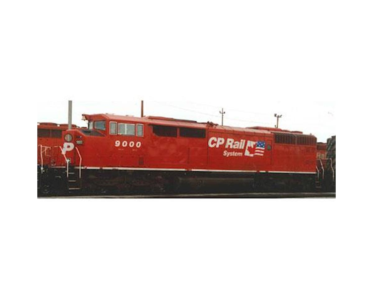 Bowser HO SD40-2F w/DCC & Sound, CPR/Dual Flag #9022
