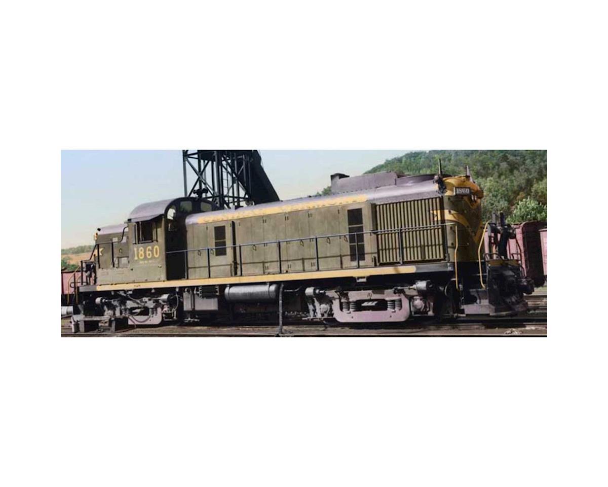 Bowser HO RS3 w/DCC & Sound, CV #1860