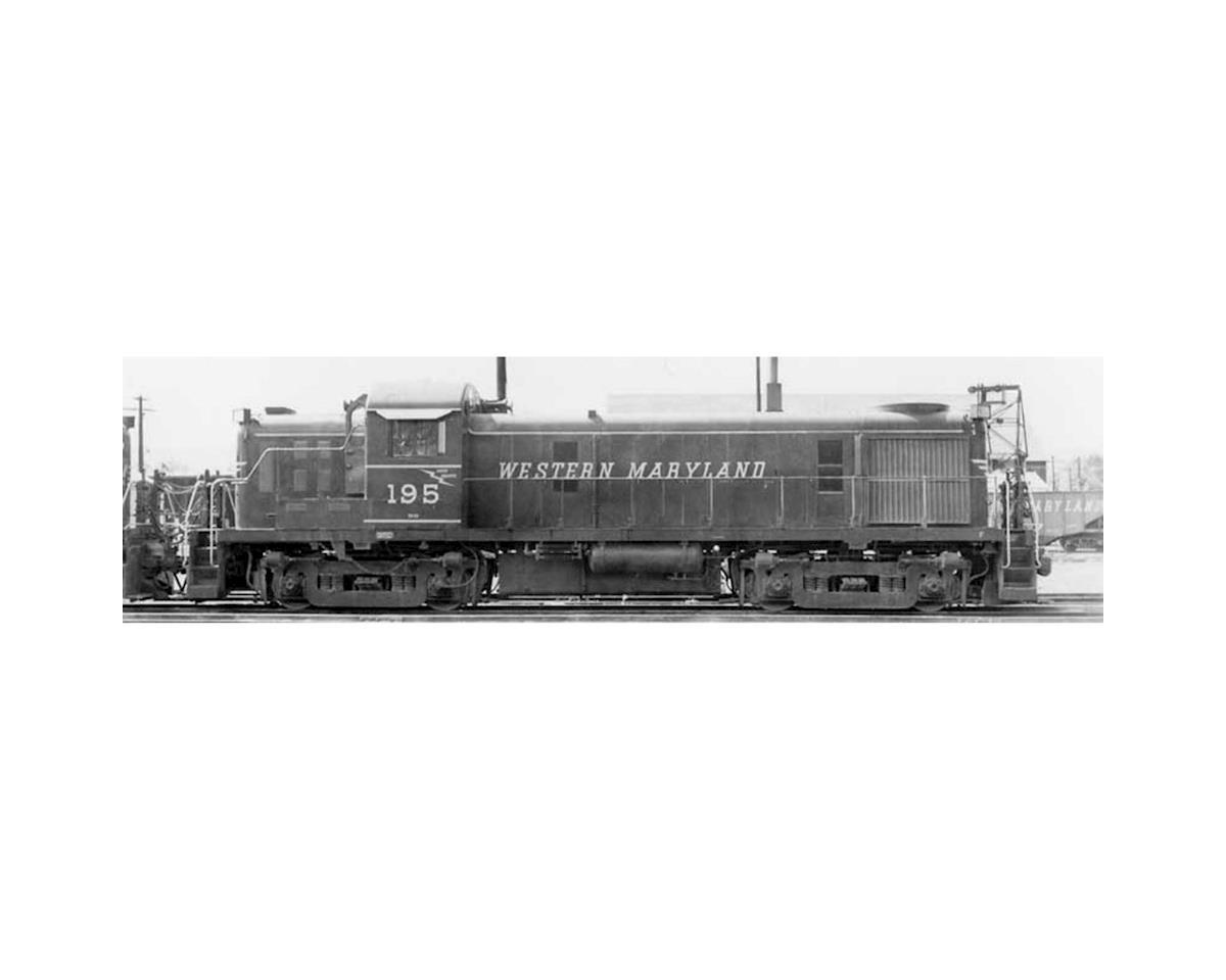 Bowser HO RS3 w/DCC & Sound, WM #196