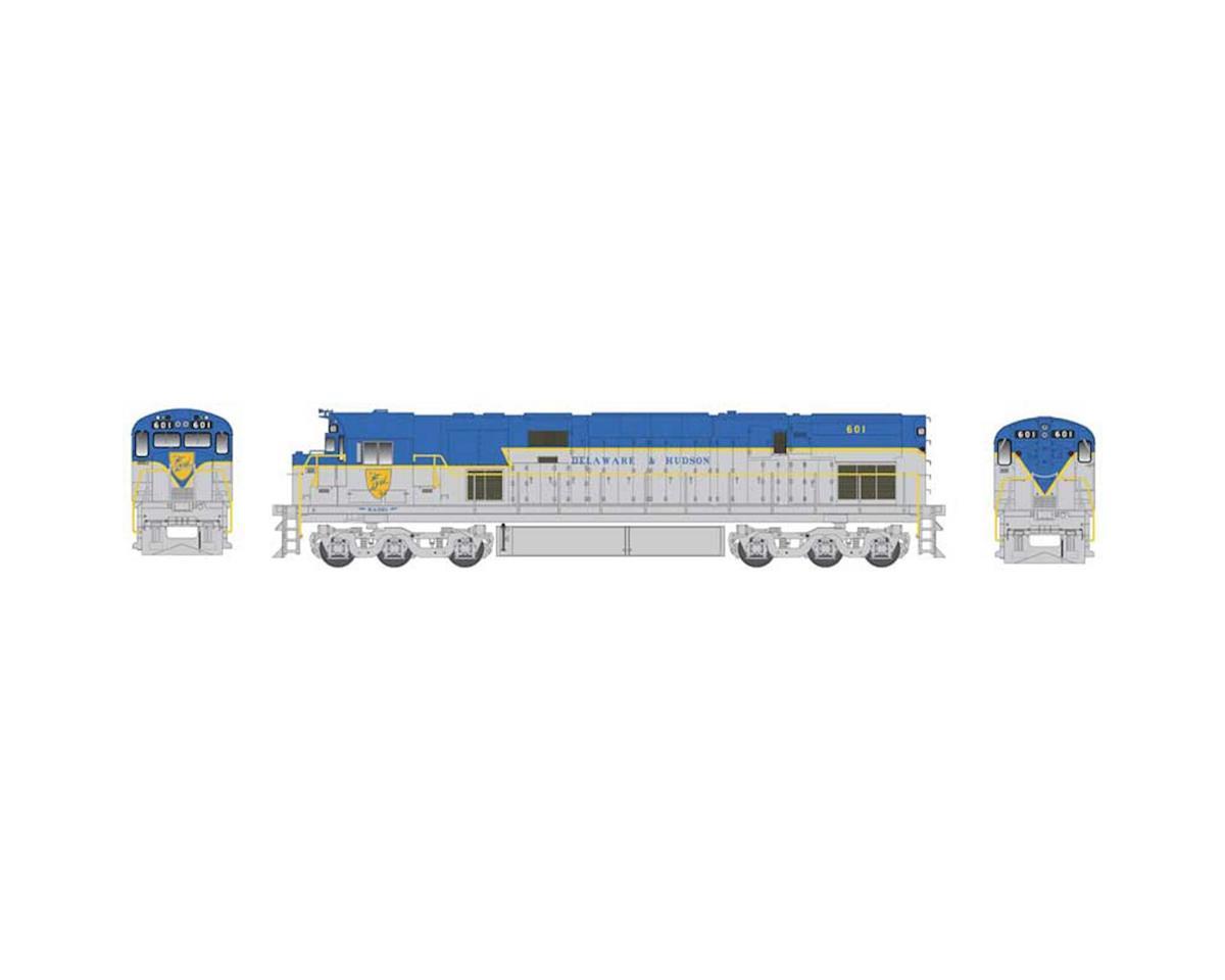 Bowser HO C628 w/DCC & Sound, D&H/Large Shield #609