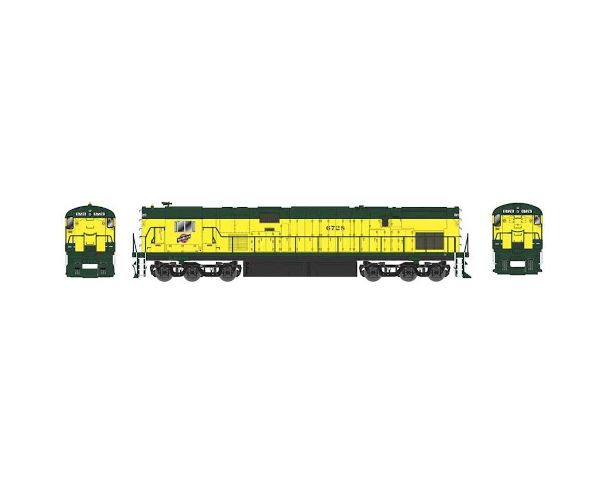 HO C628 C&NW Zito Yellow #6728 | relatedproducts