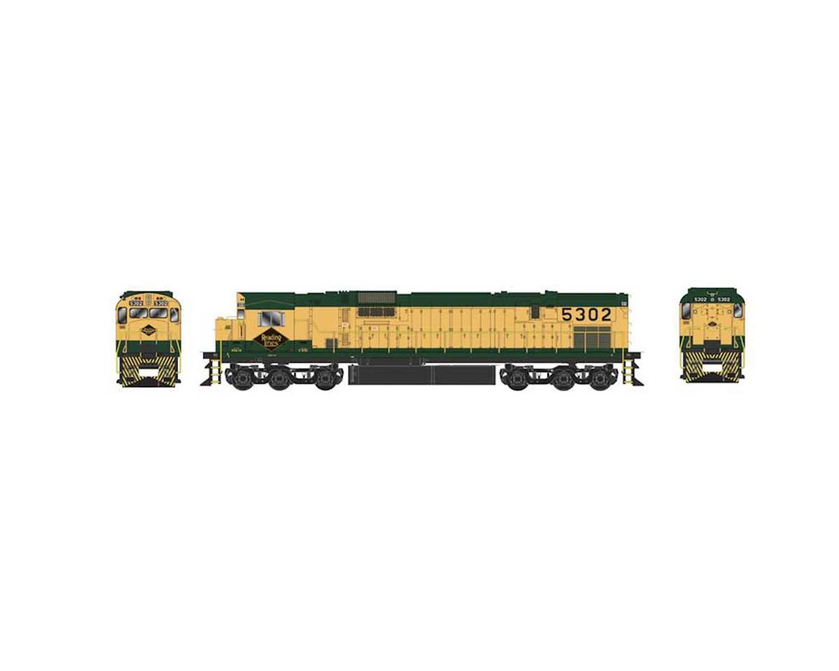 Bowser HO C630 w/DCC & Sound, RDG/Tri Mount #5302