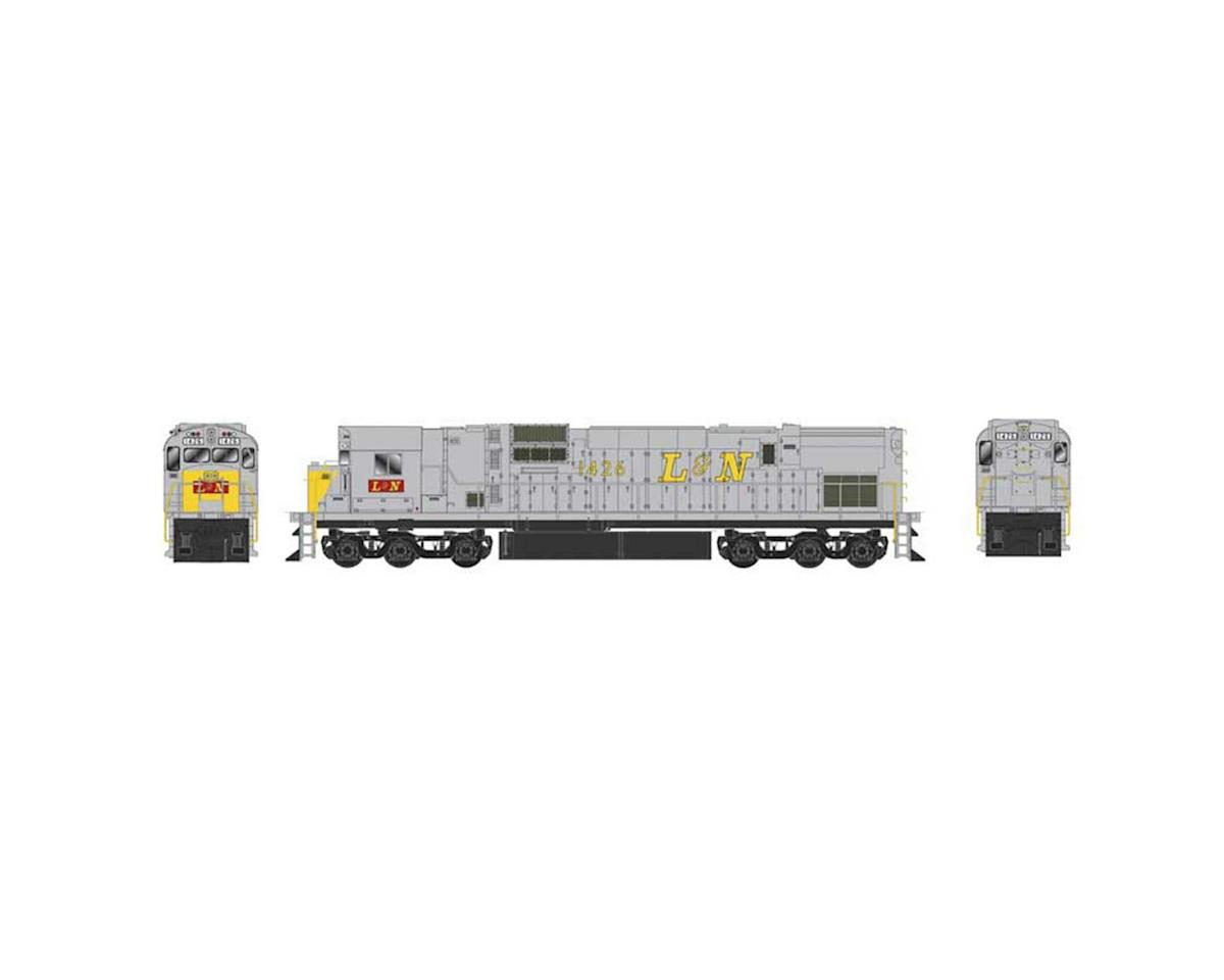 HO C630 w DCC & Sound L&N Yellow Nose #1432