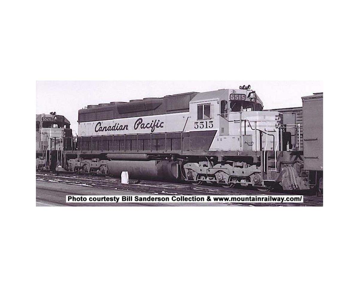 Bowser HO SD40 w/DCC & Sound, CPR/Grey/Maroon #5515