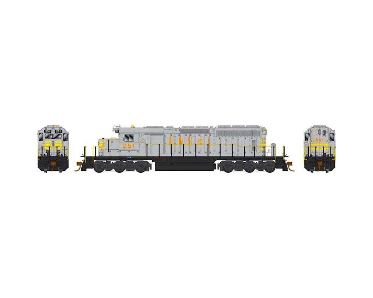 HO SD40-2 QNSL Grey #261