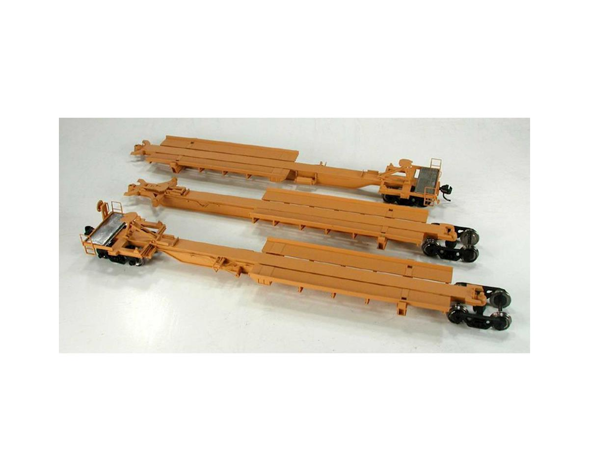 Bowser HO Trinity 3-Unit Spine, TTAX #355006 (3)