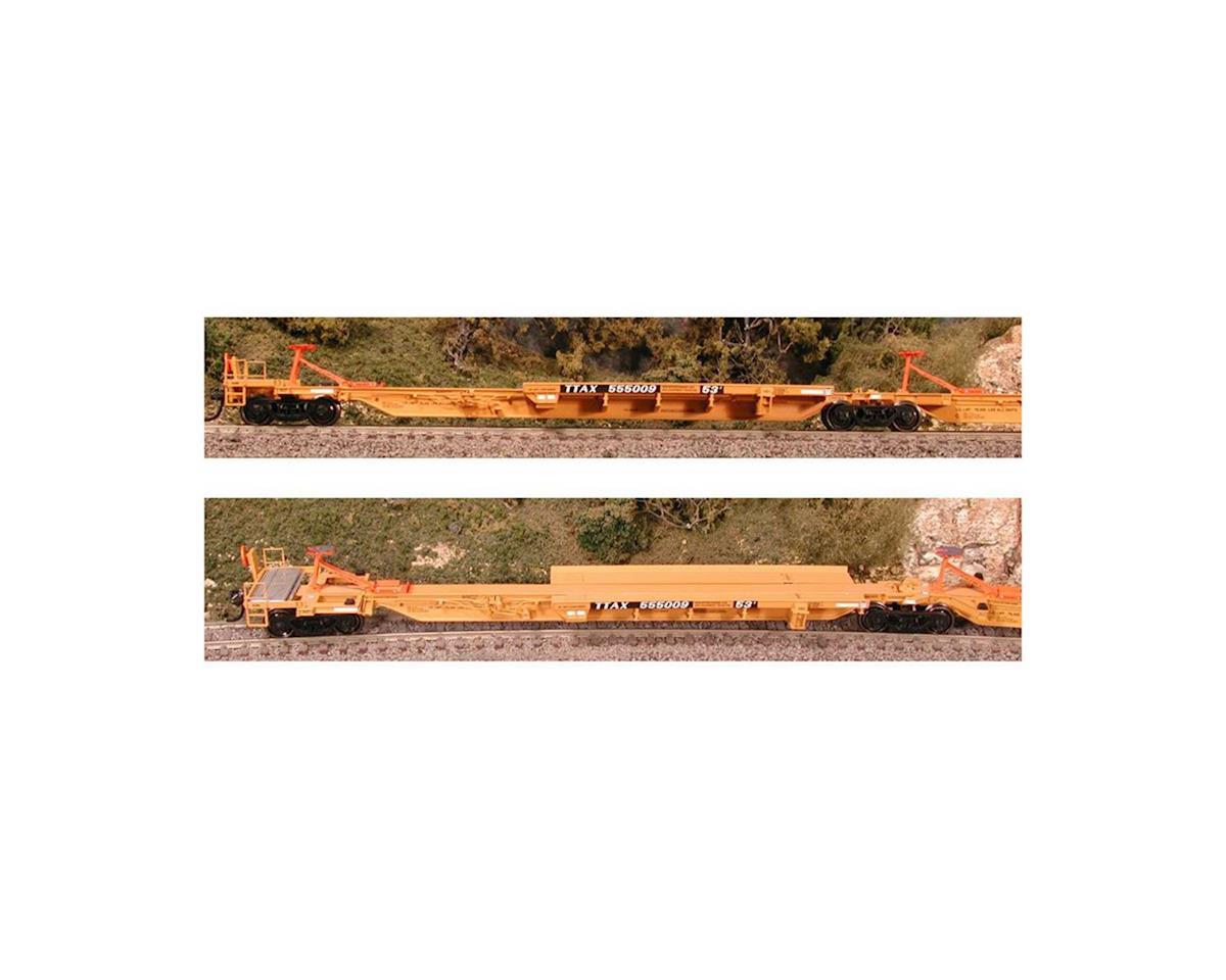 Bowser HO Trinity 5-Unit Spine, TTAX #555003 (5)