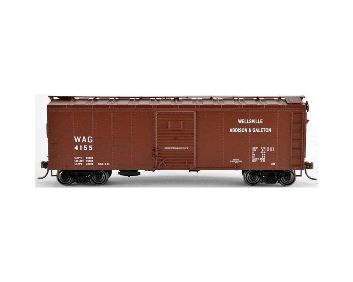 Bowser HO 40' Box, WAG #4152